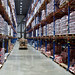 LED High-bay Lighting in Cold Storage Warehouse