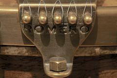 Cast Bronze Teardrop Tailpiece on the Romero Banjo (GabriolaBill) Tags: music jason macro lens nikon folk banjo precious micro instrument mm 105 romero folkmusic myprecious pharis horsefly macrolens backless clawhammer 105mm microlens noback clawhammerbanjo d3s nikond3s