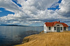 Turn Point Light, Stuart Island, San Juan Islands (tacoma290) Tags: vacation sky lighthouse water island nikon pacificnorthwest remote strength sanjuanislands pnw stuartisland resolute turnpoint turnpointlightstuartislandsanjaunislands