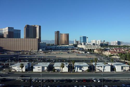 ラスベガスのウエスティン9Fからの眺め