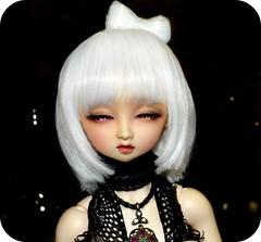 ♦ Nightlights ♦ (Purple ♥ Enma) Tags: light sun black sol night ball dark doll dolls dress sweet dream super sd nana bjd resin elegant dollfie volks mrs sd10 swd dona miya jointed doña