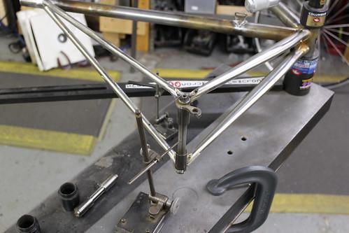 rear triangle alignment check
