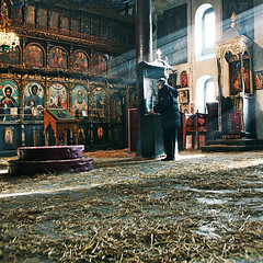 Nativity Light. Christmas in Serbia. Божић. Tanjica Perovic Photography. (Tanjica Perovic) Tags: churchinterior orthodoxchristianity serbian tradition православље србија religion serbia pirotserbia naturallight orthodox ορθόδοξοσправославныйorthodox sunbeams sunrays icons iconostasis christmas божић слама рождествохристиво atmosphere sigma1770mmf2845dcmacro canoneos400d tanjicaperovicphotography spirituality personprayinginchurch faith icon lightstreamingintochurch mystic orthodoxchristian raysoflight pravoslavie solitary soulful teal festive worship veneration squareformat prayer indoors windows pirotkilim пиротскићилим pravoslavni srbija pirot православни пирот тањицаперовић храмрождествахристовогпиротсрбија nativitychurchpirotserbia staracrkvapirotsrbija church crkva srpskapravoslavnacrkva српскаправославнацрква serbianorthodoxchurch fotografijepirota pirotsrbija throughherlens