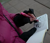 Freehands gloves (Miatagrrl) Tags: gloves sketchkit