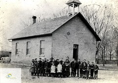 Bayham Township S.S. # 11 (Richmond), 1886. Constructed c 1860; destroyed by fire 1941.