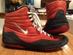 Nike Reissue Inflicts - GONE (ncwrestling33) Tags: new red white black speed shoe 10 wrestling 8 9 bn nike og 105 adidas combat 95 reissue asic lbn inflict kolat