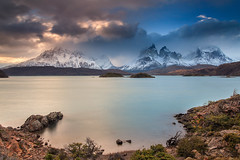 Patagonia Sunset,Chile (Helminadia Ranford) Tags: chile park travel sunset patagonia nature night landscape national helminadia toresdelpaine pwpartlycloudy