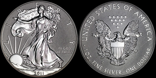 2011-P American Silver Eagle Reverse Proof