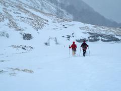 Scialpinismo Laga - Cima della Laghetta per la Valle delle Cento Fonti