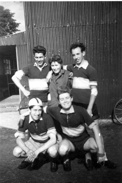 Hugh Devlin ( bottom right ) 1965
