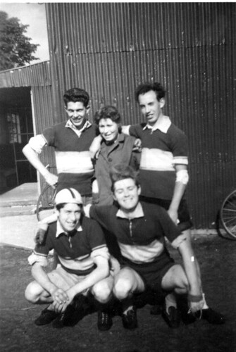 Hugh Devlin ( bottom right ) 1965