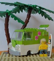 VW Kool Kombi (glaz_pimpur) Tags: vw volkswagen samba lego surfing t1 bulli lugpol koolkombi zbudujmyto