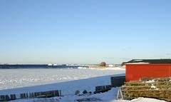 Bonavista Harbour 25 Jan 13 (hjalmar1886) Tags: morning winter snow canada ice newfoundland harbour bonavista bonavistaharbour hjalmar1886