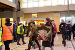 Happy B-day, Her Majesty! (Kym.) Tags: art thenetherlands beatrix flashmob hermajesty queenbeatrix flashexpo hoezohetloo