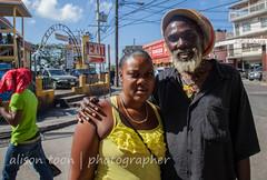 Jamaica-MoBay-Downtown-6353 (alison.toon) Tags: city copyright woman man hat happy town downtown photographer tour daughter jamaica guide rasta montegobay rastaman alisontoon