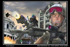 War game (ADRIANO ART FOR PASSION) Tags: game photoshop robot wargame adriano militare edificidistrutti ringexcellence