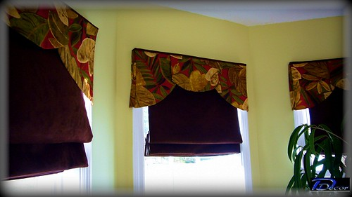 Germani Roman Shade - w Deco Valance