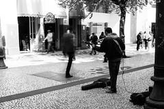 Invisible (Rafael Padovani) Tags: curitiba parana sul brasil brazil centro street streetphotography urban portrait building streetartist ghost invisible invisivel canon digital blackandwhite pretoebranco bw pb