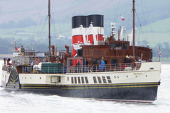 SS Waverley leaving Rothesay (Briantc) Tags: scotland bute isleofbute rothesay waverley sswaverley ship paddlesteamer steamer