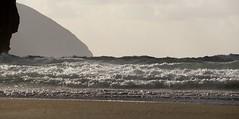 Playa de Sonabia (kadege59) Tags: sea espaa seascape travelling beach nature mar spain europe waves spanien cantabria