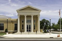 Athens, AL (RTC1) Tags: city building hall al cityhall flag alabama columns athens civic