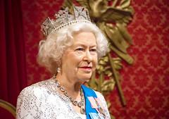 Queen Elizabeth- (cuppyuppycake) Tags: family portrait royal queen figure wax royality eliabeth