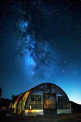 Rustic Milky Way (lahorstman) Tags: milkyway stars rustic longexposure nightsky canon leahhorstman