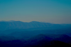2-27-16 Foothills waiting for sunrise (wildrosetn39) Tags: appalachian mountains dawn blue nature landscape