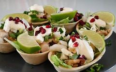 P1000448 (Tiki Chris) Tags: recipe tacos oldelpaso walnut pomegranate chickentacos walnutandpomegranatechickentacos