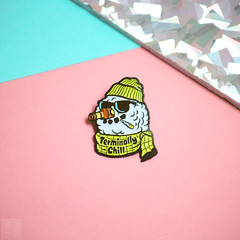 Lost Lust Supply (Courtney Emery) Tags: pins pin enamelpins productphotography fashion product pink snowman drunk beer lost lust supply