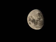 Luna de algunos meses (gabo.rivera61) Tags: moon chile follow dark black photography luna antofagasta