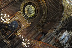 Spanish Synagogue (_MissMoneyPenny_) Tags: spanish synagogue sinagoga spagnola religion religione jews ebrei praga prague czech republic repubblica ceca travel viaggio