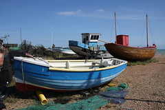 Fishing boats (My photos live here) Tags: bach boat fishing pebbles stones hastings east sussex england seaside holiday resort canon eos 1000d