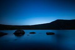 Lough Bray (Minibert93) Tags: wicklow sallysgap lake water longexposure littlestopper ireland rocks sky