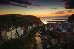 Staithes Sunrise (Dave Holder) Tags: northyorkshire staithes yorkshire coast sunrise harbor boats town landscape canon6d canon ef1740mm seascape dawn morning hull creative photography group hullcreativephotographygroup