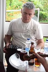 Traditional Night Out (2016) 06 - The Drle (KM's Live Music shots) Tags: folkmusic ireland irishfolk thedrle peadarriada angloconcertina concertina traditionalnightout sidmouthfolkweek woodlandshotel