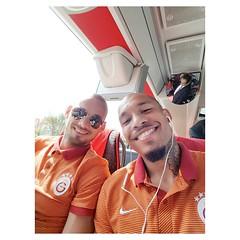 Nigel De Jong & Wesley Sneijder (l3o_) Tags: galatasaray sar krmz red yellow kayserispor football futbol sper lig nigel de jong wesley sneijder