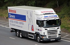 SCANIA G380 - Britannia Greers Keith Morayshire (scotrailm 63A) Tags: lorries trucks removals