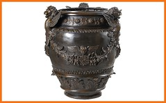 Flower urn with three winged lions (Romeo Pui+ : Eros in Love) Tags: bronzesculpture bronzesculptures bronzestatues flowerurn flowerurnwiththreewingedlions interiordesigners pipblehike softcloth urn warmwater wingedlion wingedlions