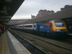 43050 @ Leicester (ianjpoole) Tags: east midlands trains 43050 working 1d25 london st pancras international nottingham