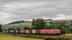 3182_2016_07_16_Haunetal_Neukirchen_DB_6185_402_DB_Schenker_Green_Cargo_&_185_357_mit_Containerzug_KT_50758_Nrnber (ruhrpott.sprinter) Tags: ruhrpott sprinter deutschland germany nrw ruhrgebiet gelsenkirchen lokomotive locomotives eisenbahn railroad zug train rail reisezug passenger gter cargo freight fret diesel ellok hessen haunetal boxxboxxpress db egp ell hhla hsl hvle lbllocon metrans mrcedispolokdispo bb railpoolrpool rbh rhc schweerbau sbbc txltxlogistik wienerlokalbahnencargo 143 145 152 182 185 193 218 270 428 650 1264 1266 421 es64u2 es64f4 greencargo ice r5 outdoor logo natur sonnenaufgang graffiti rinder