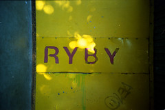 0002lca-kodak100-sp45-norm (Moryc Welt) Tags: lomo lca soviet kodacolor kodak asa100 expired film text fish marketplace bielskobiaa poland europe epsonv600 iscanforlinux gimp