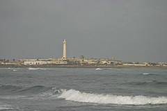 The beach, Ain Diab, next to the Hassan II Mosque, Casablanca (Jonmikel & Kat-YSNP) Tags: casablanca morocco march 2007