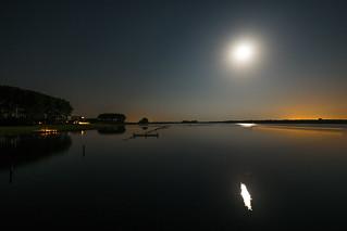 Veersemeer im Mondlicht