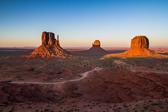 Sunset view at Monument Valley, Arizona, USA (tvrdypavel) Tags: landscape america american arizona beautiful beauty blue butte canyon cliff clouds colorado desert destinations erosion geological grand highway historic horizon indian land landmark mesa mitten monument mountain national nature navajo orange outdoor park peak red rock sand sandstone sky southwest states tourism travel tribal united usa utah valley west western oljatomonumentvalley unitedstates us