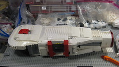 SHIPtember 2016 WIP - 24b (DJ Quest) Tags: lego shiptember 2016 space ship spaceship moc wip belly work