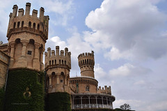 The Palace (Debatra) Tags: bangalore bangalorepalace bengaluru karnataka india tudor architecture palace sky clouds nikkor nikon 1855 1855mm d3300