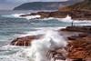 Fishermen on the cliff (FPL_2015) Tags: leefilter gnd09 canon6d landscape southcurlcurl northernbeaches sydney australia sunrise fisherman rocks ocean water seascape 70200f4lis