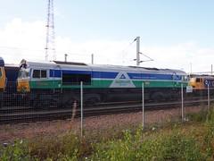 MOSSEND 66711 SENCE. (johnwebb292) Tags: diesel class 66 66711 sence mossend