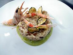 La Marchesa & d'Arapr (Sparkling Wines of Puglia) Tags: party battesimo palazzodarapr risotto fruttidimare zucchine radicchio